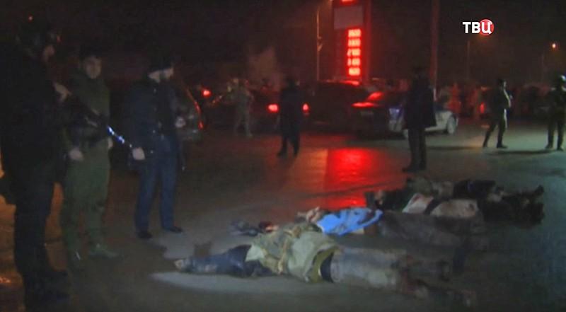 Спецоперация в Чечне