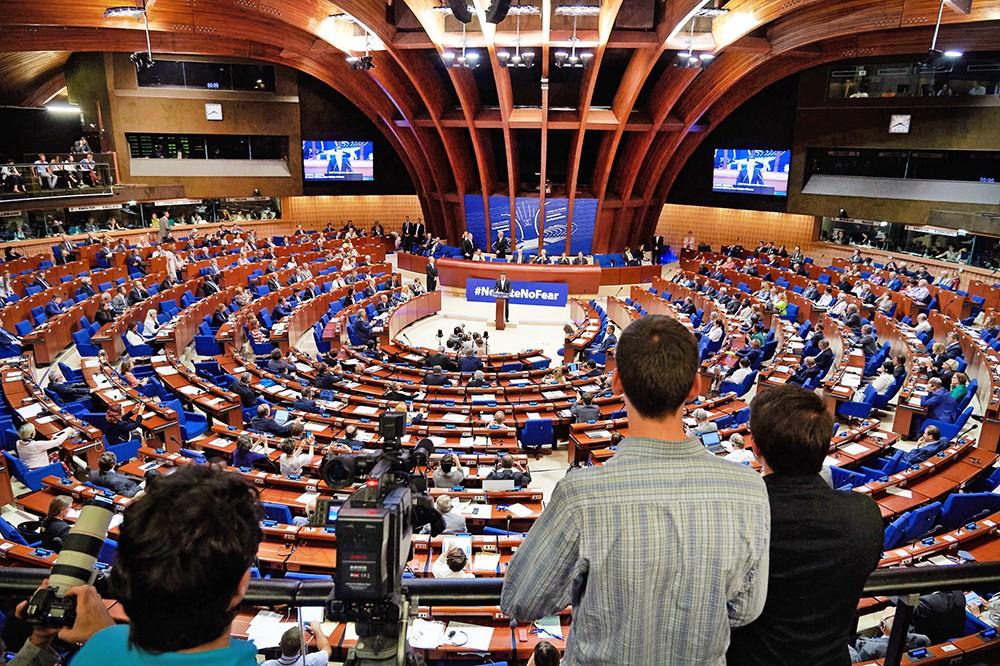 Заседание Парламентской Ассамблеи Совета Европы (ПАСЕ)