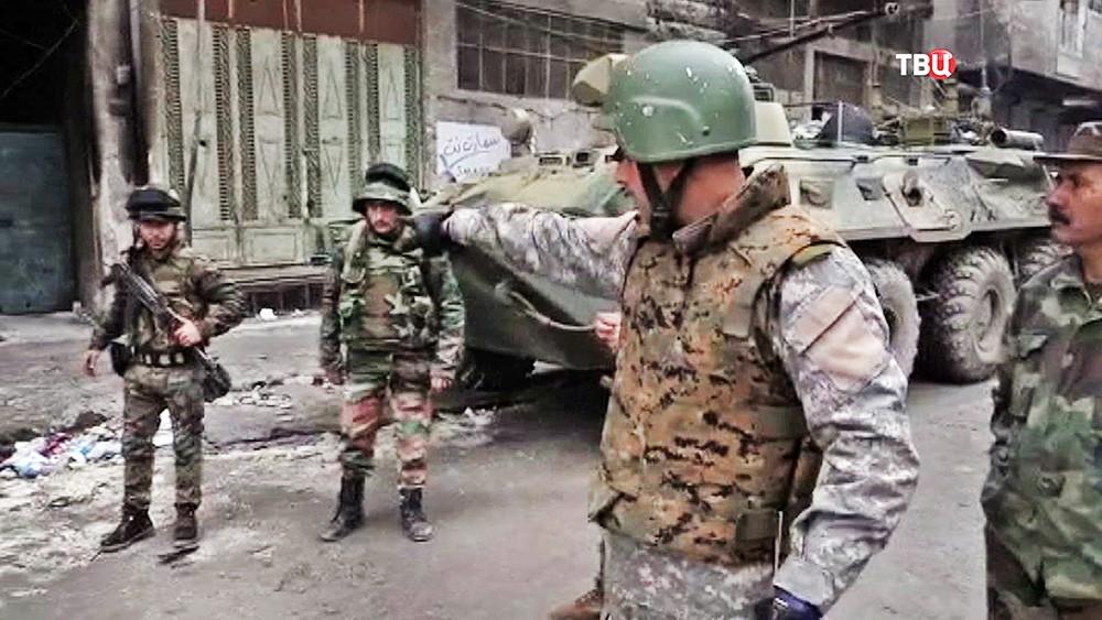 Координатор от руководства Сирии впереговорах сбоевиками убит под Дамаском