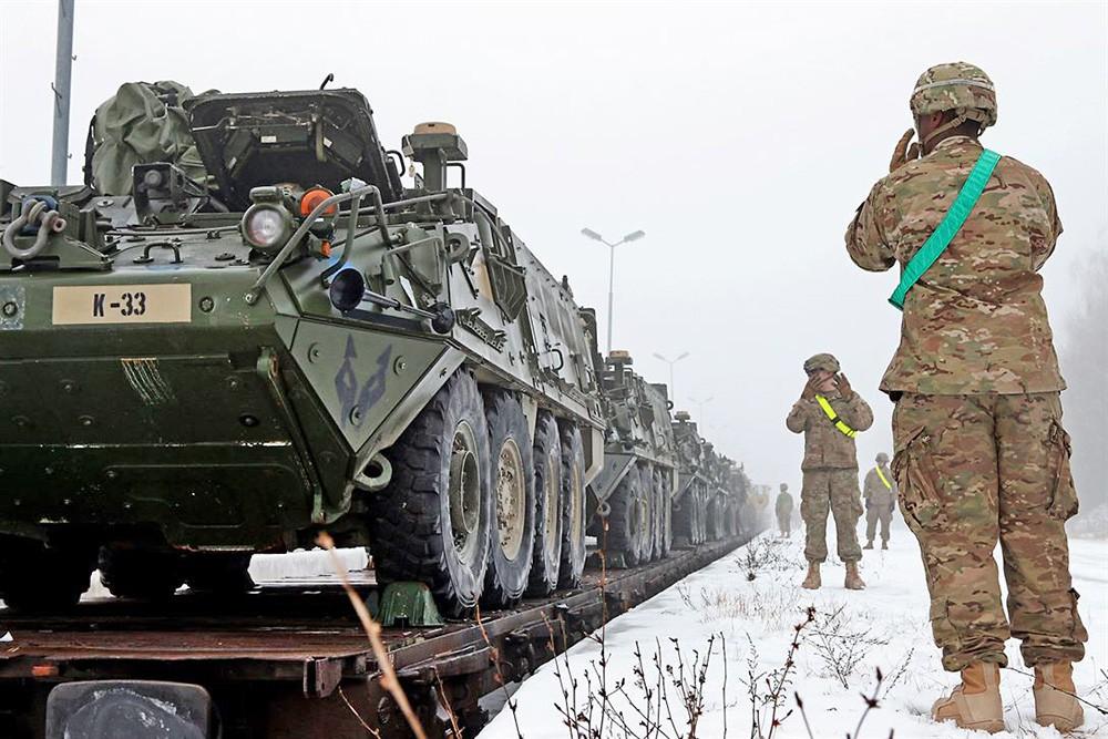 Военная техника армии США в Европе