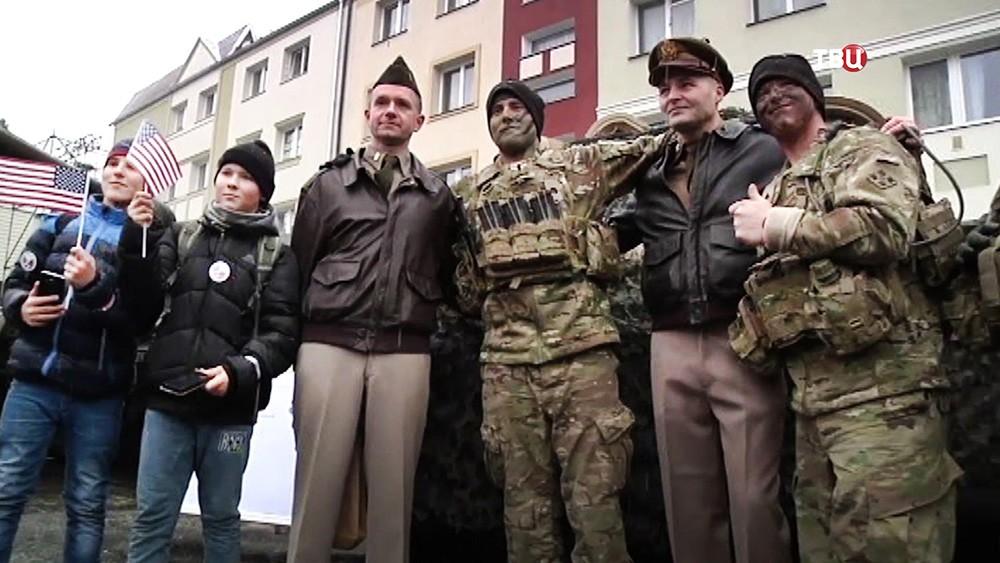 Военнослужащие армии США в Польше