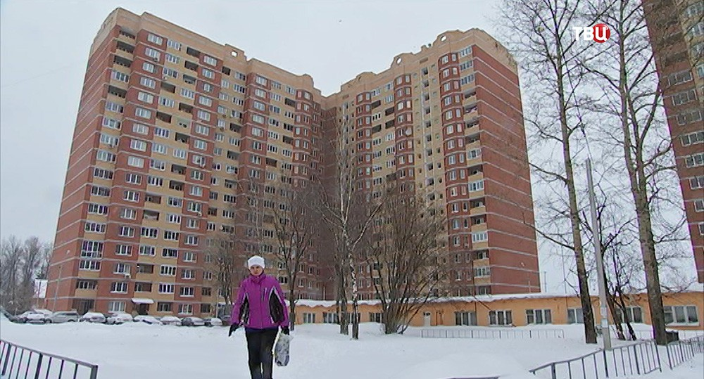 Многоквартирный жилой дом в Сергиевом Посаде