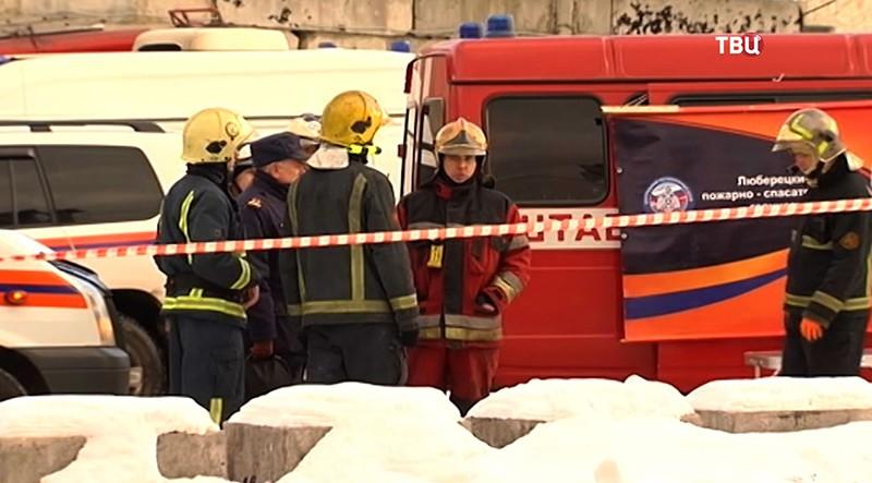 Взрыв газа в Люберцах