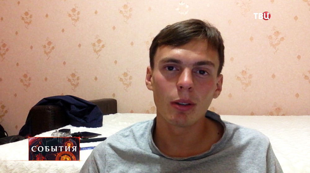 Легкоатлет Андрей Дмитриев