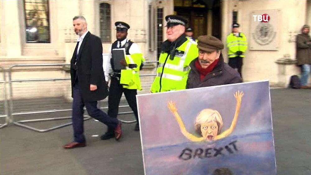 Митинг против Brexit в Великобритании