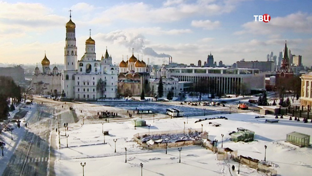 Территория Кремля