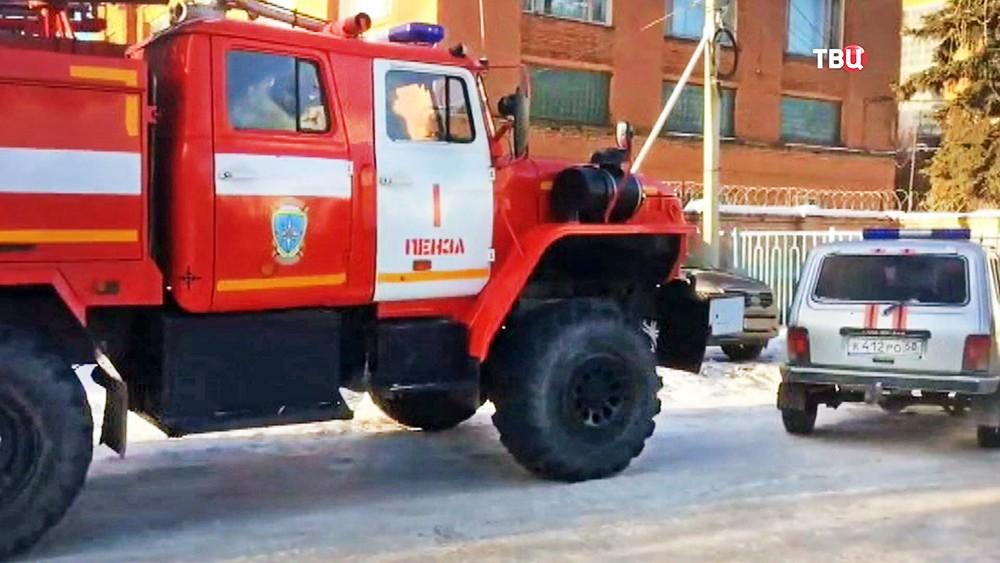 Спасатели МЧС Пензенской области