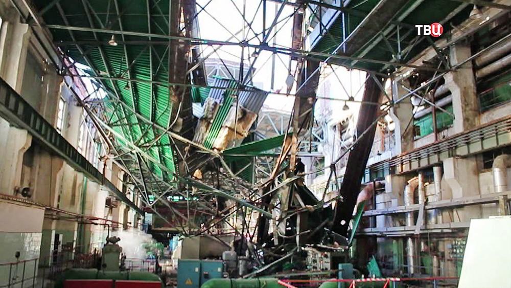Авария на ТЭЦ в Пензе