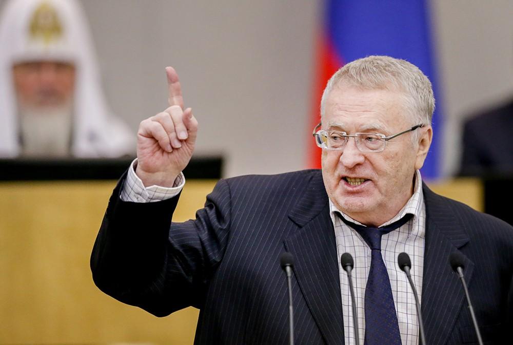 Владимир Жириновский и Патриарх Кирилл