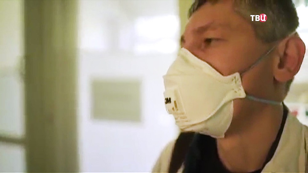 Пациенты больницы на Украине