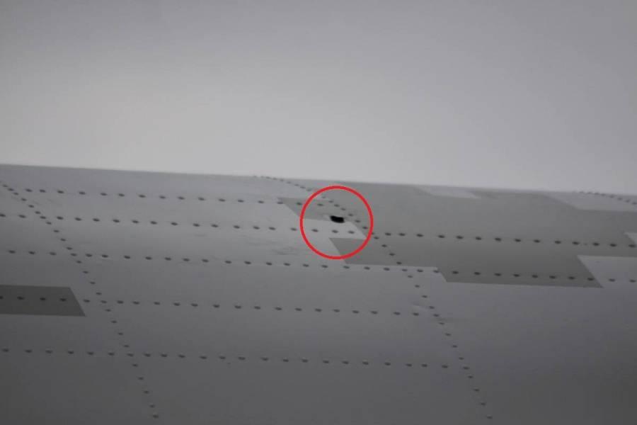Обстрелянный Ан-26 ВВС Украины