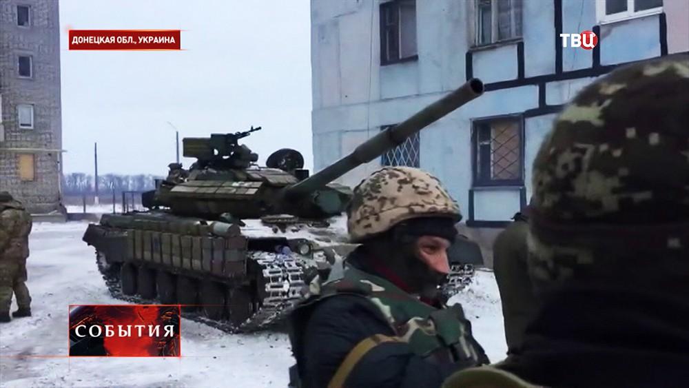 Украинские танки вошли вАвдеевку. «Режим предотвращения огня несоблюдается»