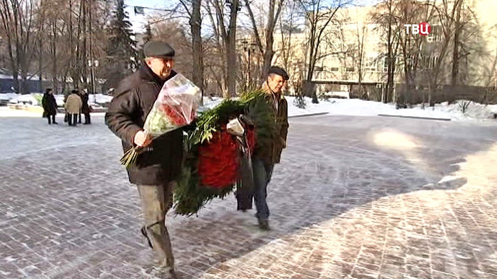 Прощание с Георгием Тараторкиным