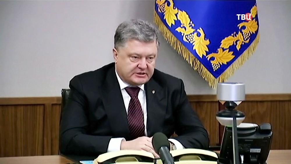 Президент Украины Пётр Порошенко и канцлер Германии Ангела Меркель