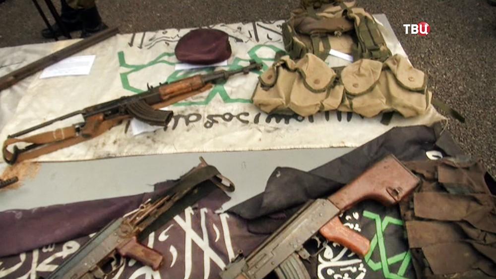 Оружие террористов в Сирии
