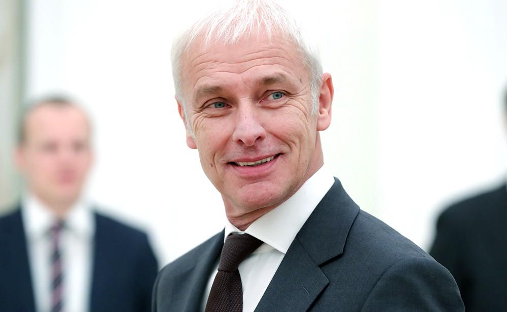 """Председатель правления концерна """"Фольксваген"""" Маттиас Мюллер"""