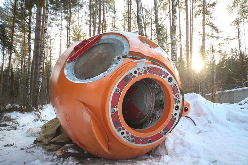 Космонавты в Звездном городке