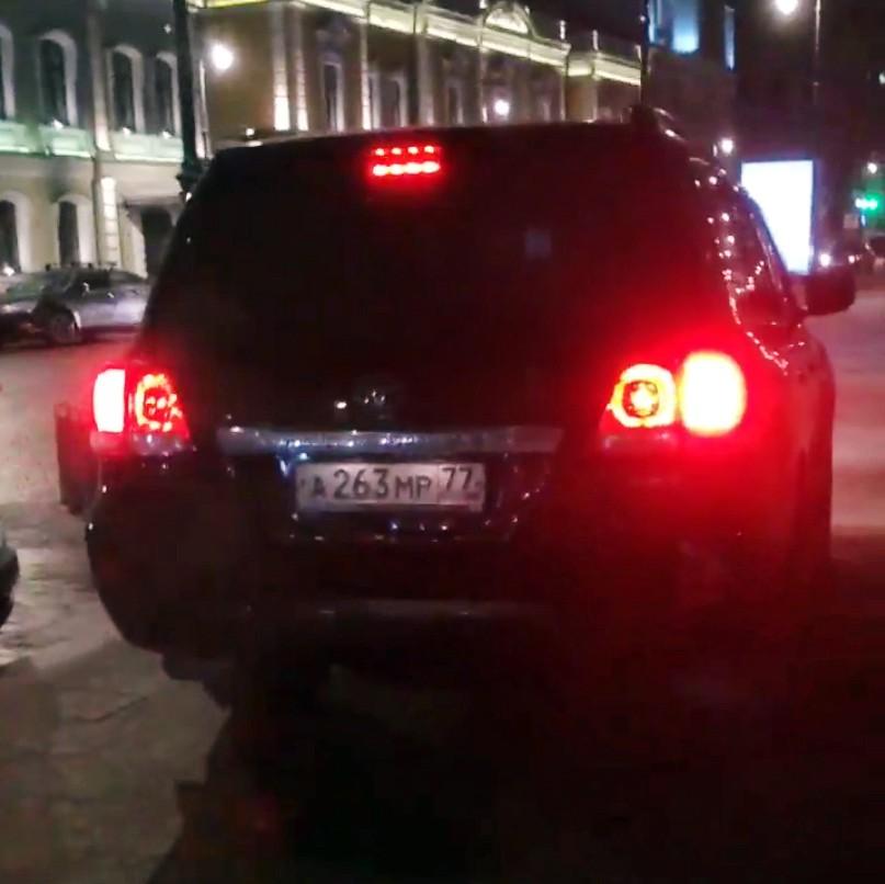 """Toyota Land Cruiser с номерами серии """"АМР"""""""