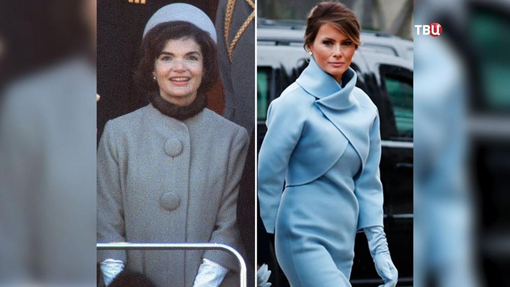 Жаклин Кеннеди и Мелания Трамп