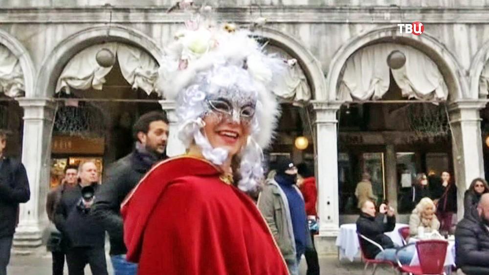 ВВенеции начался традиционный карнавал