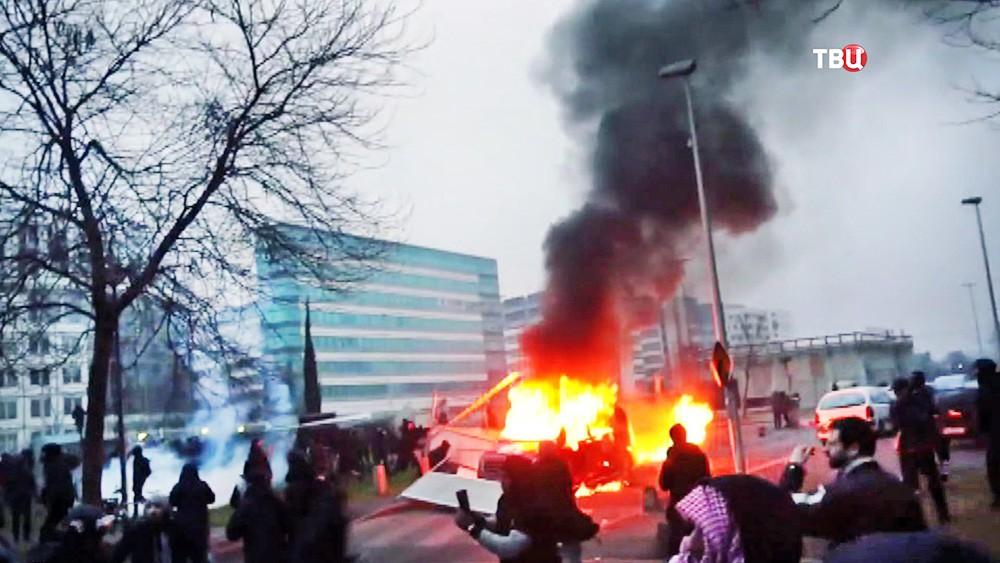 Уличные беспорядки во Франции