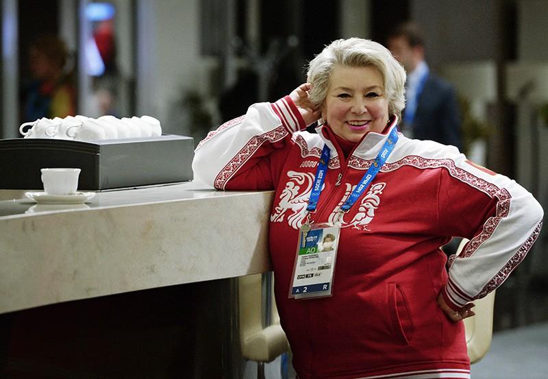 Тренер по фигурному катанию Татьяна Тарасова