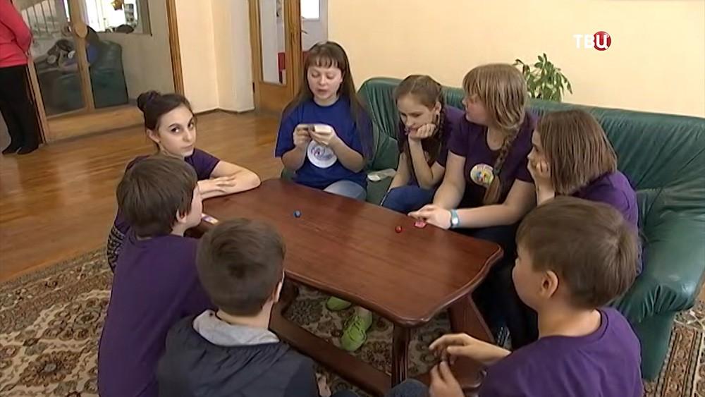 Дети из Донбасса на отдыхе