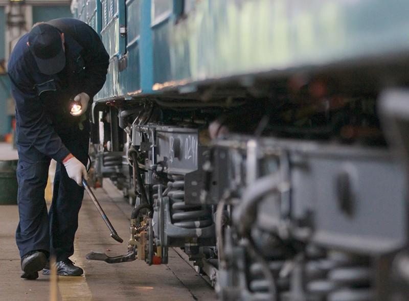 Плановые работы по обслуживанию подвижного состава