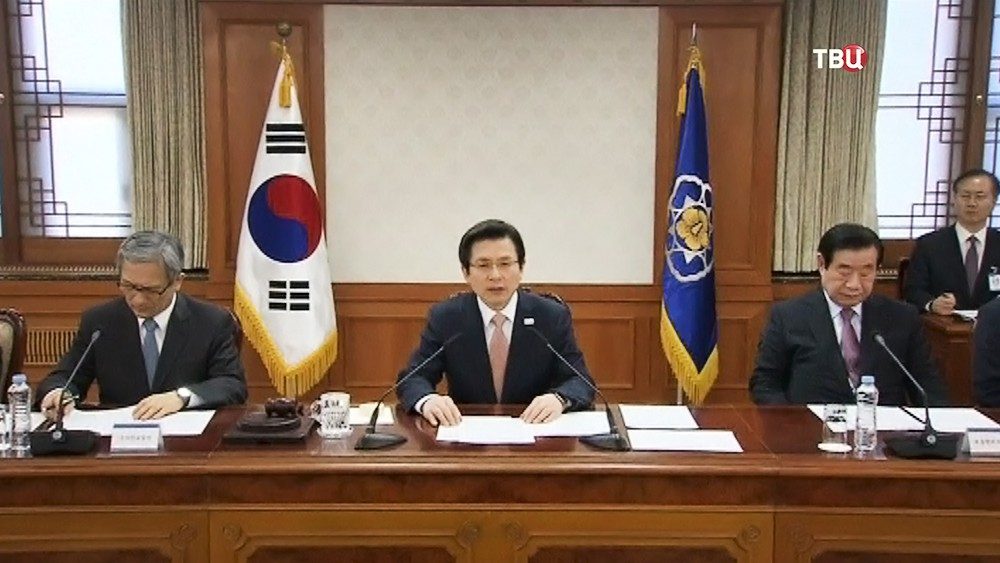 И.о. президента Южной Кореи Хван Геан