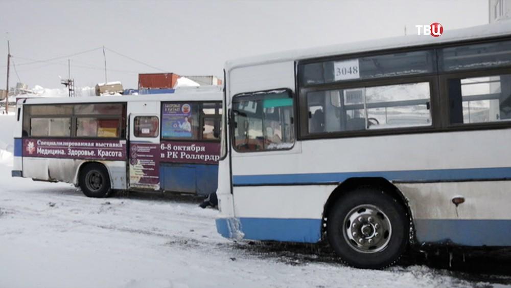 Автобусы на Камчатке