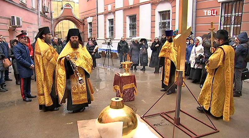 Освещение креста