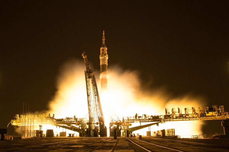 Появилось видео последнего вистории запуска ракеты «Союз-У» сБайконура