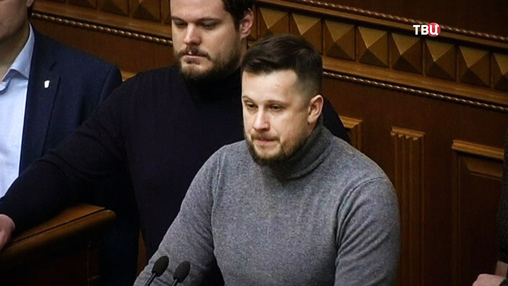 Лидер национального корпуса Андрей Билецкий
