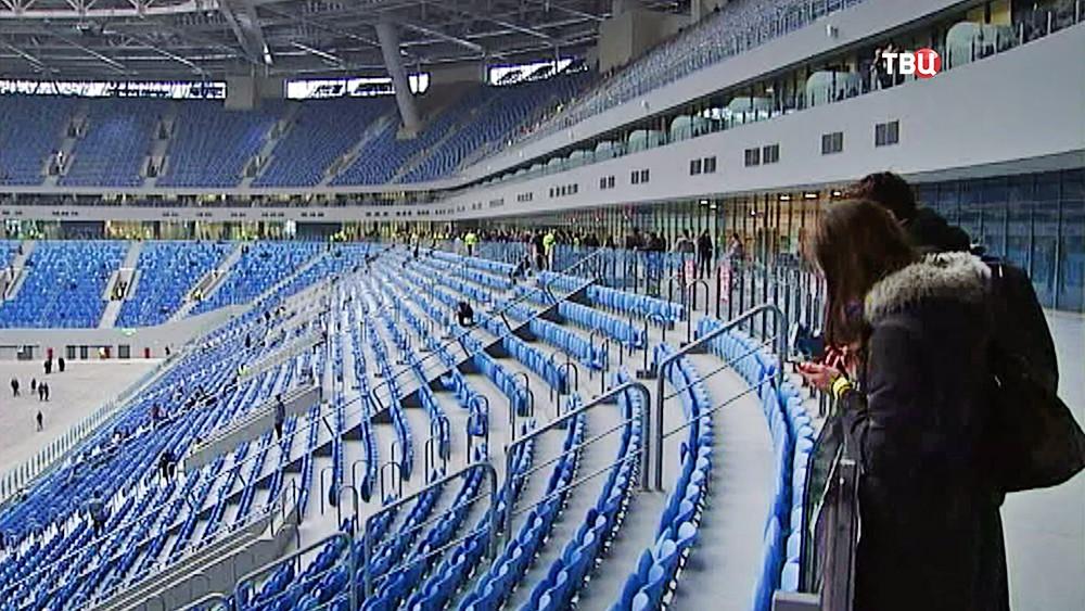 Стадион наКрестовском острове передадут оргкомитету «Россия-2018» кконцу весны