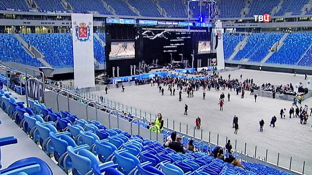 """Концерт на стадионе """"Зенит-Арена"""""""