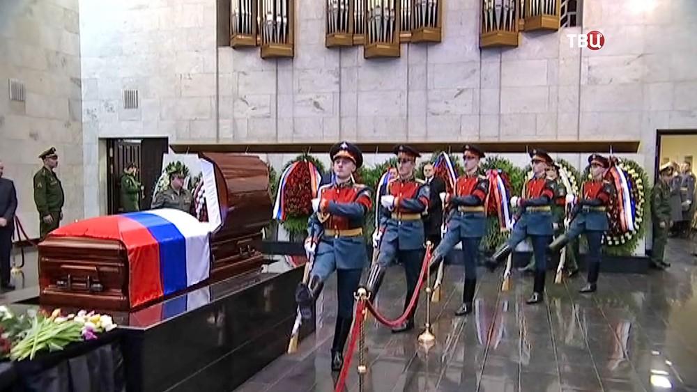 Церемония прощания с Виталием Чуркиным