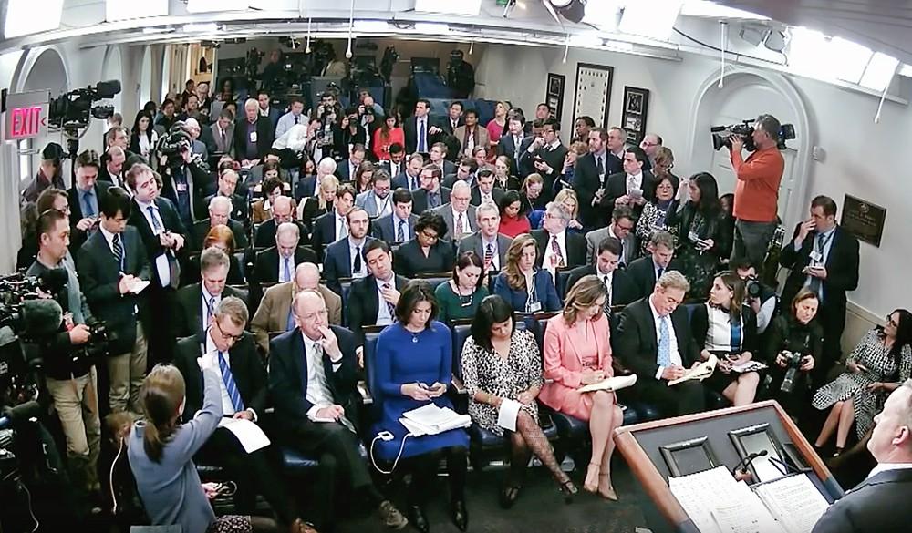 Пресс-конференция в Белом доме США