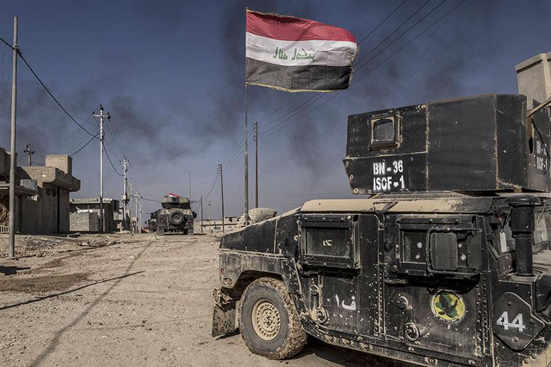 Боевые действия в Мосуле, Ирак