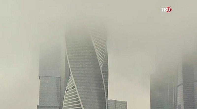 Туман в Москве