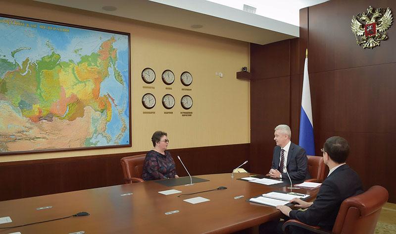 Сергей Собянин проводит личный прием граждан