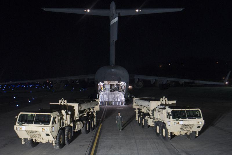 Системы ПРО THAAD в Южной Корее