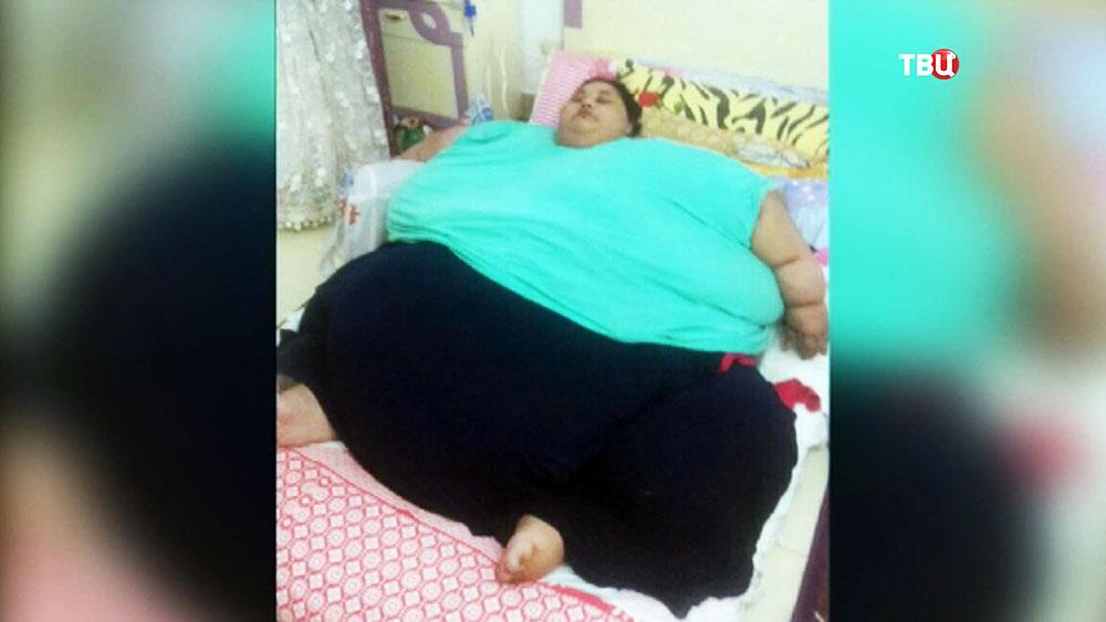 500-килограммовая женщина Иман Ахмад Абдулати