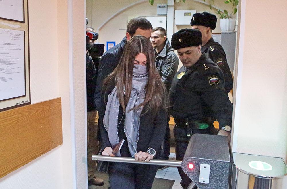 Участница гонок с полицией Мара Багдасарян