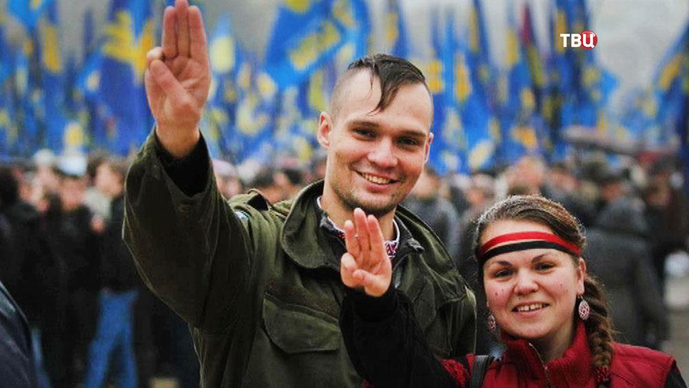 Украинский радикал Дмитрий Резниченко