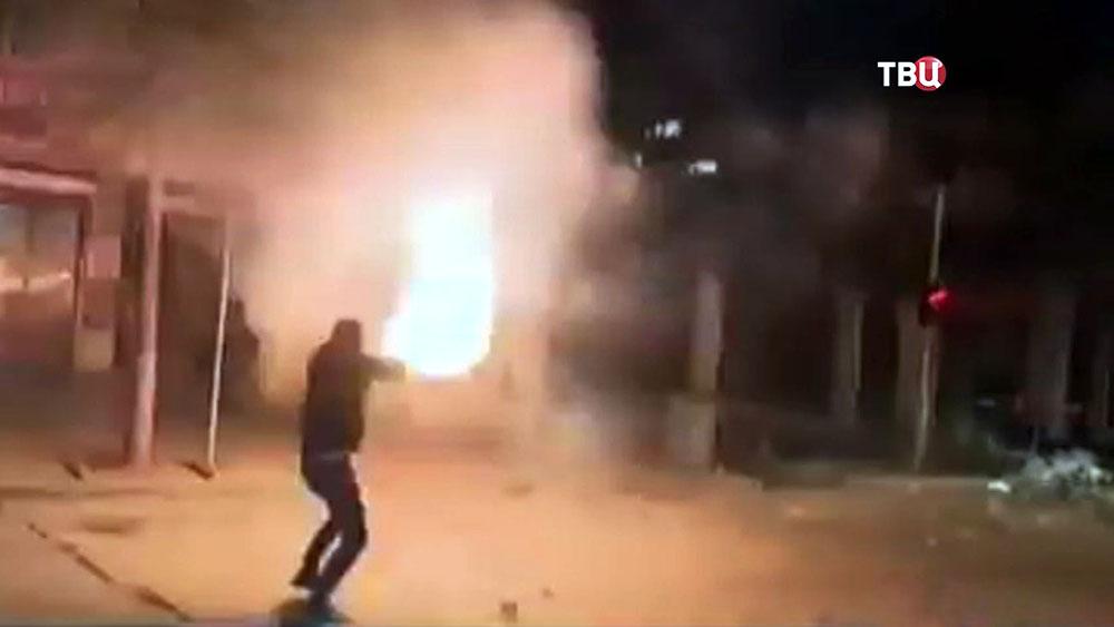 Уличные беспорядки в Батуми