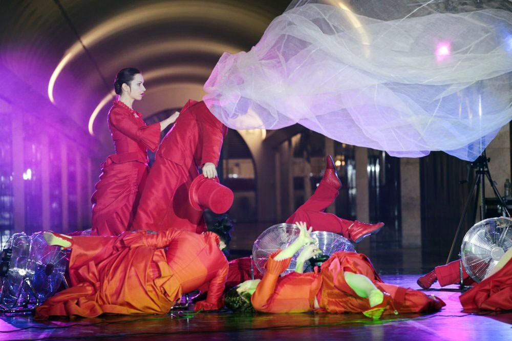 «Ночь балета» состоялась вМосковском метрополитене