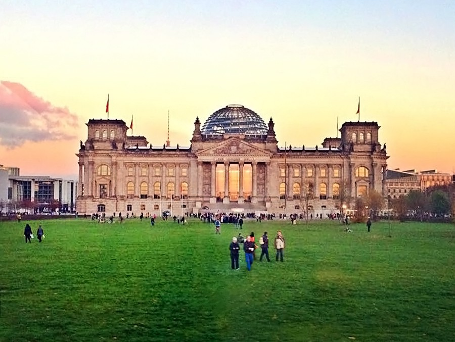 Здание Бундестага