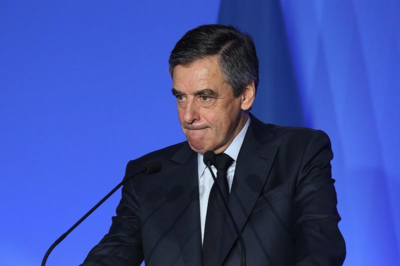 Кандидат на пост президента Франции Франсуа Фийон