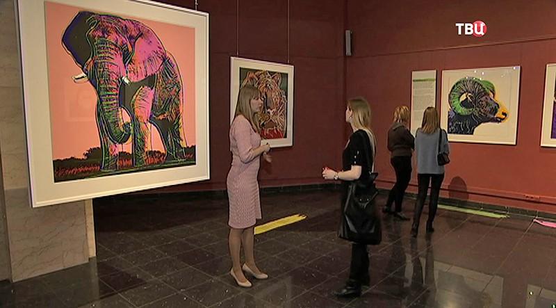 Серию шелкографий Энди Уорхола покажут вДарвиновском музее