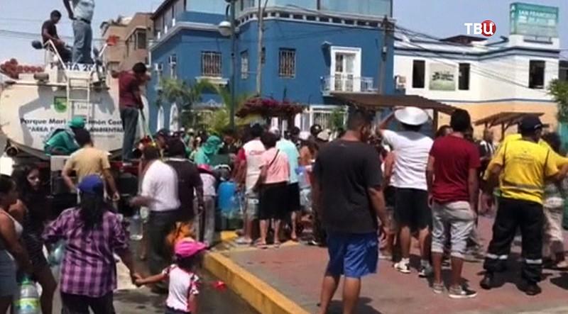 Наводнение в Перу